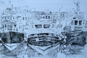 LWalker_Busy Harbour